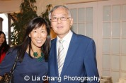 Vicki Shu and Cao K. O. Photo by Lia Chang