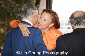 Cao K. O and Congresswoman Nydia Velázquez. Photo by Lia Chang
