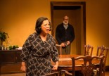 Mia Katigbak and Alok Tewari in NAATCO's Awake and Sing. Photo by William P. Steele