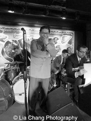 George Gee and his Orchestra at Swing46 in New York on April 1, 2014. Photo by Lia Chang