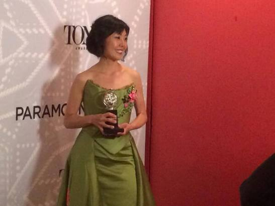 Costume Designer Linda Cho, 2014 Tony Award winner for A Gentleman's Guide to Love and Murder. (Photo courtesy of A.C.T.)