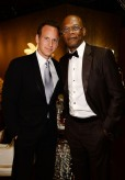 Actors Patrick Wilson (L) and Samuel L. Jackson attend the 68th Annual Tony Awards at Radio City Music Hall on June 8, 2014 in New York City. (Photo by Dimitrios Kambouris/Getty Images for Tony Awards Productions)