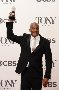 Kenny Leon winner of the award for Best Direction of a Play for A Raisin in the Sun poses in the press room during the 68th Annual Tony Awards on June 8, 2014 in New York City. (Photo by Andrew H. Walker/Getty Images for Tony Awards Productions)