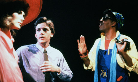 Hello dolly ... Andrew McCarthy and Meshach Taylor in Mannequin Photograph: Allstar/20th Century Fox/Sportsphoto