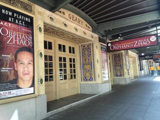 The Orphan of Zhao starring Bd Wong has performances at A.C.T. though June 29, 2014. Photo by Lia Chang
