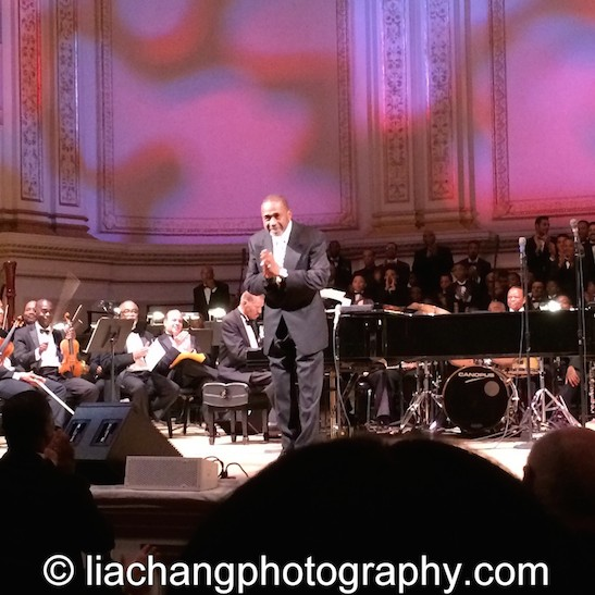 """Ben Vereen performed """"For Good,"""" from Wicked as part of The Black Stars of The Great White Way Broadway Reunion: Live The Dream at Carnegie Hall in New York on June 23, 2014. Photo by Lia Chang"""