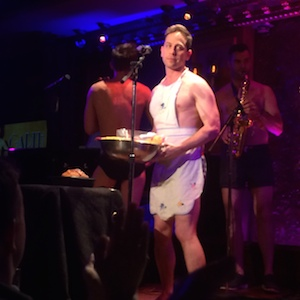 Garth Kravits with The Skivvies at 54 Below in New York on June 4, 2014. Photo by Lia Chang