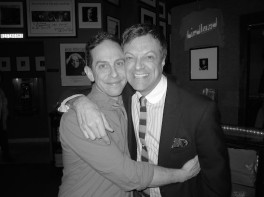 Garth Kravits and Jim Caruso at Birdland in New York on March 17, 2014. Photo by Lia Chang