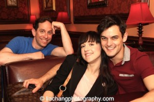 Garth Kravits, Tony winner Lena Hall and Wesley Taylor performed with The Skivvies at 54 Below in New York on June 4, 2014. Photo by Lia Chang