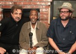 The Criminal Minds Team: Joe Mantegna, Meshach Taylor and Dan Ramm at Taylor's 67th birthday party in Toluca Lake, CA on April 12, 2014. Dan Ramm co-wrote the first episode of Criminal Minds that Taylor appeared in on November, 2012. Photo by Lia Chang