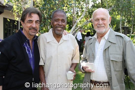Joe Mantegna, Meshach Taylor and Gerald McRaney. Photo by Lia Chang