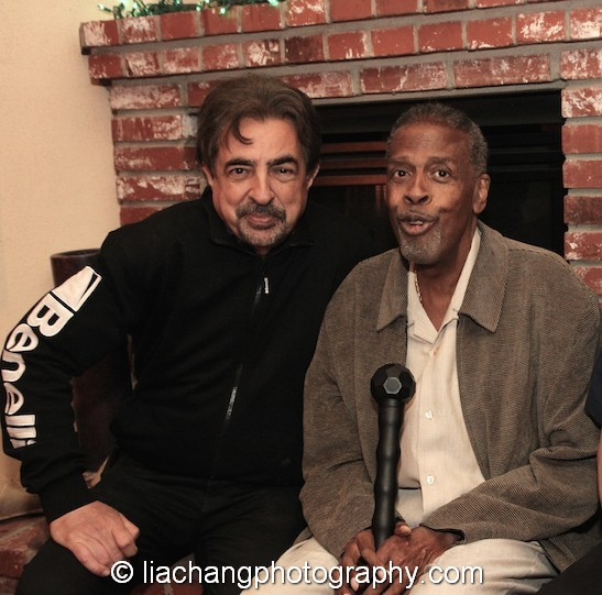 Joe Mantegna gave his brother Meshach Taylor a 67th birthday party at his home in Toluca Lake, CA on April 12, 2014. Photo by Lia Chang