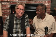 John Heard and Meshach Taylor. Photo by Lia Chang