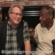 John Heard and Meshach Taylor. Photo by Lia Chang