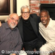 Stuart Gordon, Vinny Guastaferro and Meshach Taylor. Photo by Lia Chang