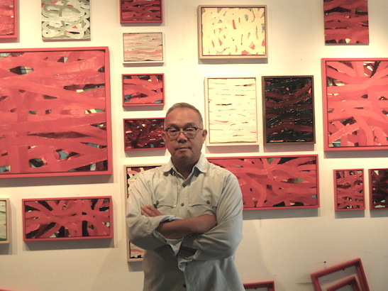 Arlan Huang in his Brooklyn Studio. Photo by Lillian Ling