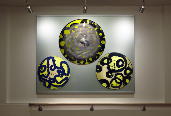 Arlan Huang  Untitled, 2010 Glass Photo by: Bruce Damonte