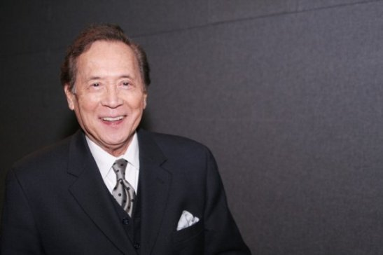James Shigeta at the APA Institute screening and Q & A of The Crimson Kimono on December 6, 2007 at the Cantor Film Center in New York. Photo by Lia Chang