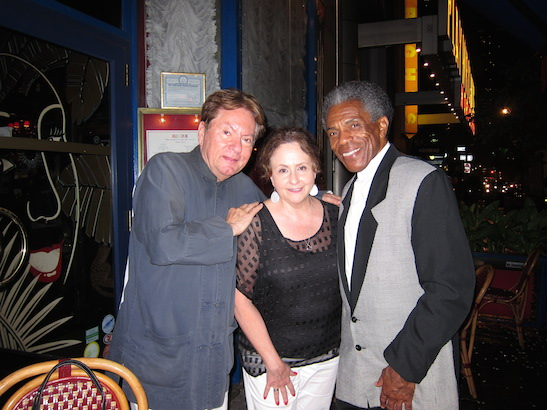 Jean-Claude Baker, Merle Frimark and André De Shields at Chez Josephine. Photo by Lia Chang