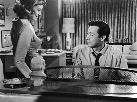 Victoria Shaw and James Shigeta in The Crimson Kimono (UCLA Film and Television Archive)