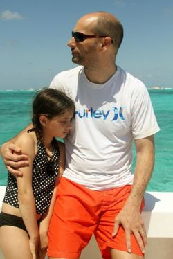 Aislin Lyman with her father Frank