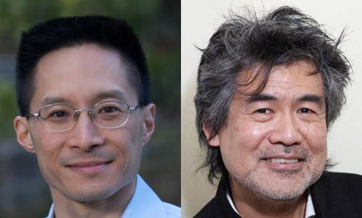 Eric Liu and David Henry Hwang (Photo by Lia Chang)