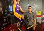 Los Angeles Lakers' Jeremy Lin, Unveils His Own Wax Figure at Madame Tussauds San Francisco on August 21, 2014. Photo courtesy of Madame Tussauds San Francisco.