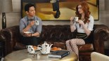 Karen Gillan and John Cho in 'Selfie' (Pic: ABC)