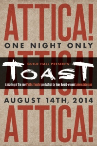 ToasT at Guild Hall August 14th [side a