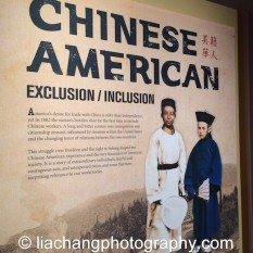 Chinese American: Exclusion/Inclusion Exhibit at the New-York Historical Society. Photo by Lia Chang