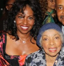 Pauletta Pearson Washington and Ruby Dee. Photo by Lia Chang