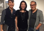 Jason Ma, Christine Toy Johnson and Alan Muraoka. Photo by Lia Chang
