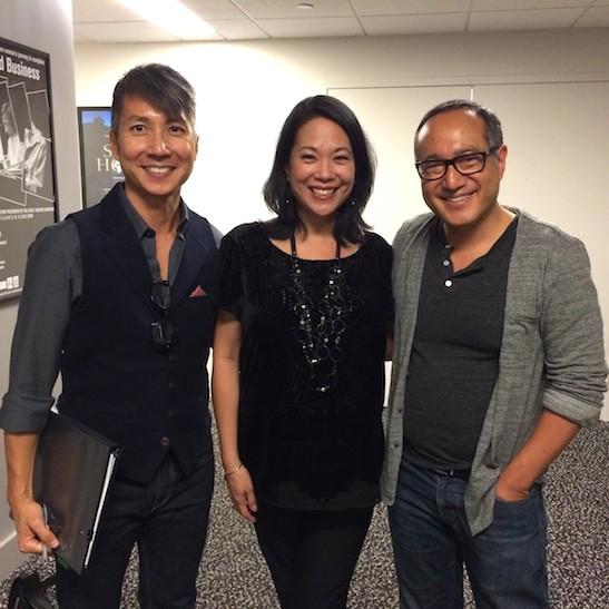 Jason Ma, Christine Toy Johnson and Alan Muraoka. Photo by Lia Chang