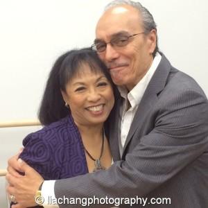 Baayork Lee and Raul Aranas. Photo by Lia Chang