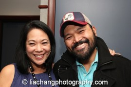 Christine Toy Johnson and Orville Mendoza. Photo by Lia Chang