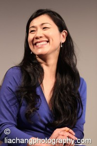 Dr. Agnes Hsu-Tang at the New-York Historical Society in New York on October 2, 2014. Photo by Lia Chang