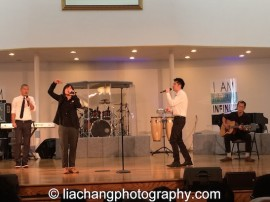 Taiyo Na and Magnetic North perform Asian Song for Yuri. Photo by Lia Chang