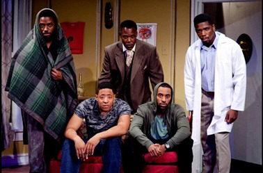 National Black Theatre's production of Keith Josef Adkins The Last Saint on Sugar Hill.