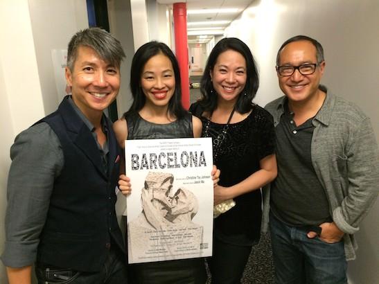 Jason Ma, Lia Chang, Christine Toy Johnson and Alan Muraoka. Photo by Yan Li