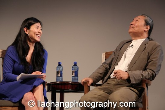 Dr. Agnes Hsu-Tang and Yang Chihung at the New-York Historical Society in New York on October 2, 2014. Photo by Lia Chang
