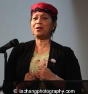 Ambassador Attalah Shabazz. Photo by Lia Chang