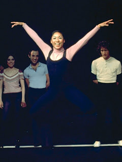 Baayork Lee (playing Miss Wong in this clip from the 1969 Tony Awards) created the role of Connie in A Chorus Line, and in fact has made a career of recreating Bennett's choreography. Photo credit: Martha Swope on Armchair Actorvist