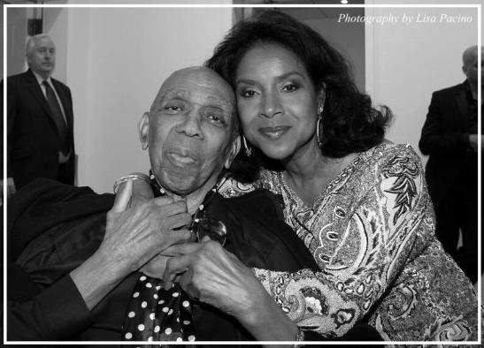 Geoffrey Holder and Phylicia Rashad at The Black Stars of The Great White Way Broadway Reunion: Live The Dream at Carnegie Hall in New York on June 23, 2014. Photo by Lisa Pacino