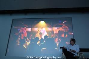 Conrad Ricamora as Ninoy Aquino in Here Lies Love. Photo by Lia Chang