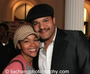 Crystal Dickinson and Brandon J. Dirden. Photo by Lia Chang