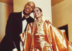 Geoffrey Holder with his wife Carmen De Lavallade.