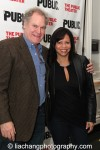 Jay O. Sanders and Gloria Reuben. Photo by Lia Chang