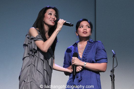 "Jaygee Macapugay and Melody Butiu sing ""Here Lies Love"