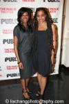 Jenny Jules and Suzan-Lori Parks. Photo by Lia Chang
