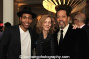 Jeremie Harris, Jo Bonney and Peter Jay Fernandez. Photo by Lia Chang